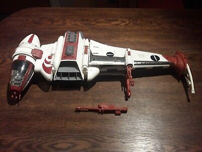 """Star Wars """" Dagger Squadron B-Wing Fighter """" Toysrus Exclusive Legacy Collection"""