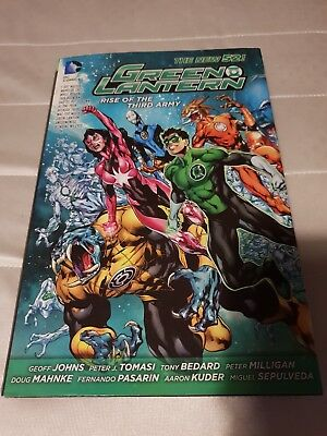 Green Lantern: Rise of the Third Army HC (The New 52) by Geoff Johns, Peter J. …