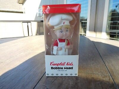 Vintage 2002 Campbells Advertising Bobble Head