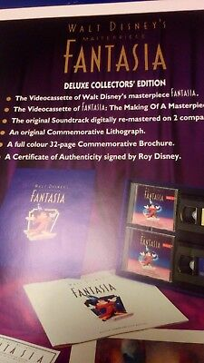 Walt disney fantasia deluxe collector's edition