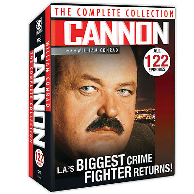 Cannon: The Complete Collection - DVD - 122 Episodes - Region 1 (US & Canada)