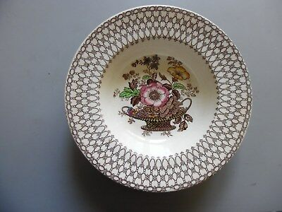 Myott Son & Co England Bonnie Dundee soup plates