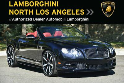 2015 Bentley Continental GT Speed  *2015 GTC SPEED *ONYX *NECK WARMER *ADAPTIVE CRUISE *REAR VIEW CAMERA