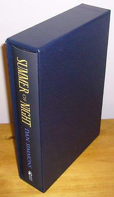 Dan Simmons SUMMER OF NIGHT Signed Limited Edition