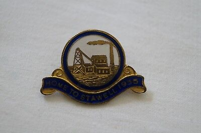 Collectable Vintage 1935 Pre WWII Home to Stawell Badge Pin