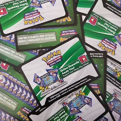 15x RANDOM TCGO PTCGO TCG Online Codes Pokemon Sent FAST! READ DESCRIPTION
