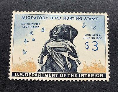WTDstamps - #RW26 1959 - US Federal Duck Stamp - NG