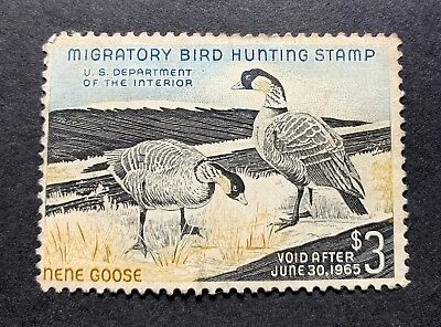WTDstamps - #RW31 1964 - US Federal Duck Stamp - Partial Gum