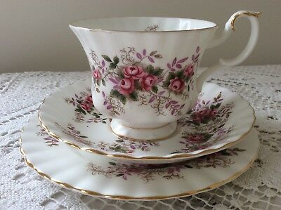 Royal Albert Lavender Rose Trio