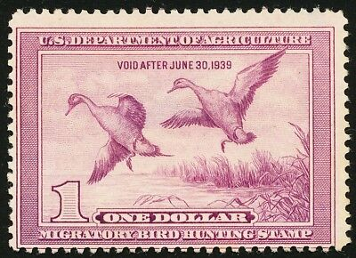 Dr Jim Stamps Us Department Of Agriculture Duck Scott Rw5 $1 Used No Reserve