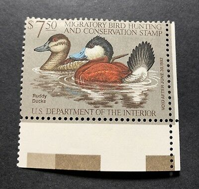 WTDstamps - #RW48 1981 - US Federal Duck Stamp - Mint H