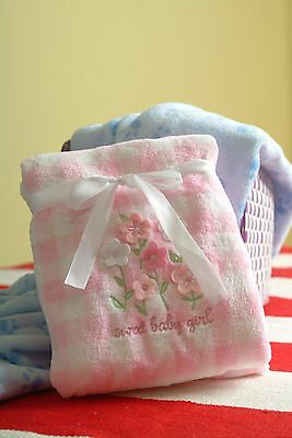 NWT Baby Warm Cozy Soft Fleece  Baby Blanket Size 30 x 40~New~
