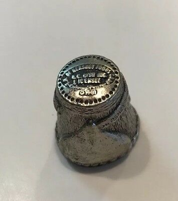 1981 Hershey's Kisses N.C. GISH INC. Metal Thimble