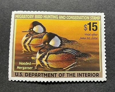 WTDstamps - #RW72 2005 - US Federal Duck Stamp - NG