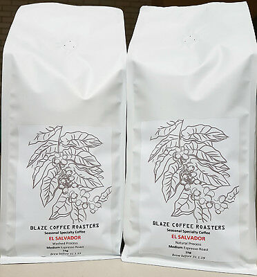 Roasted Specialty Coffee Beans - 1kg Whole Bean