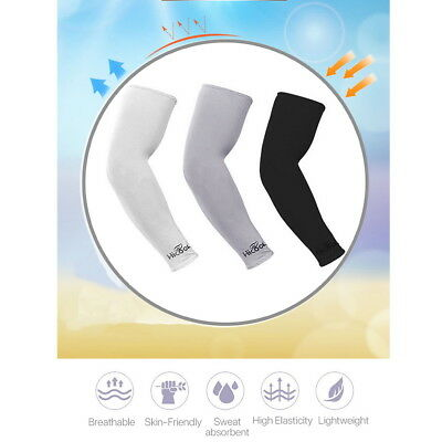3 Pair Cooling Sport Arm Sleeves Compression Sun Protection Cover Tennis Cycling