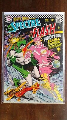 BRAVE AND THE BOLD #72 SPECTRE / FLASH 1967 DC COMICS Silver Age Barry Allen
