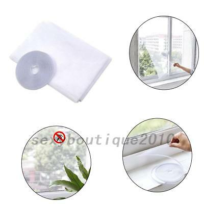 White DIY Anti Mosquito Fly Door Insect Net Mesh Fly Screen Curtain Window New