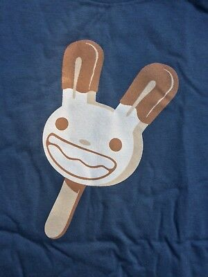 Official - New Retired EXTRA LARGE - SAM & MAX 'Max Pop' T-Shirt + Button!