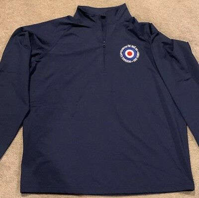 Eddie Vedder Pete Townshend Crew Track Jacket The Who Concert Pearl Jam Size L