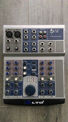 Alto AMX-100 10-Channel Mixing Console with manual