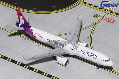 Gemini Jets 1:400 Hawaiian Airlines Airbus A321-200 NEO 'Delivery' N202HA