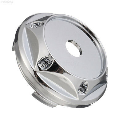 E4E8 4Pcs Car Tire Wheel Rim Center Hub Cap Cover No Logo For VW BK ABS Accessor
