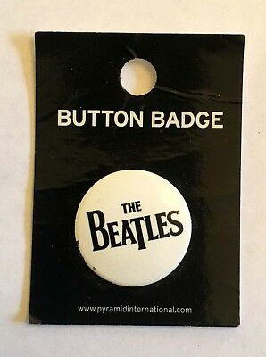 Beatles the White album badge from 2008 - . Made in the UK 25 mm dia