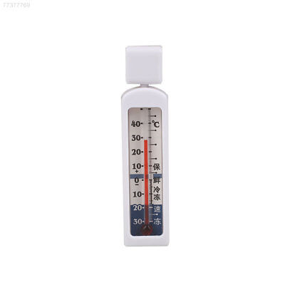 4F9A Home Kitchen Fridge Refrigerator Thermometer Living Indoor Tools White