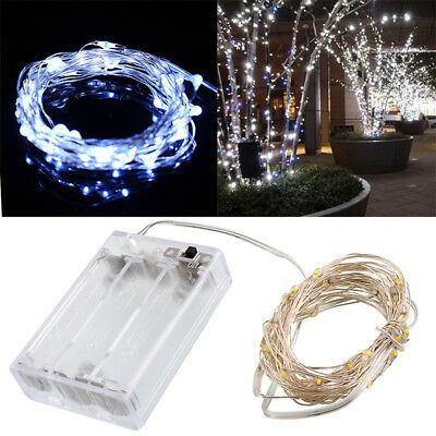 LED String Fairy Lights Indoor/Outdoor Garden Curtain Christmas Party Decor Z