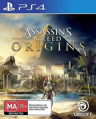 Assassins Creed Origins PlayStation 4 PS4 Brand New Game