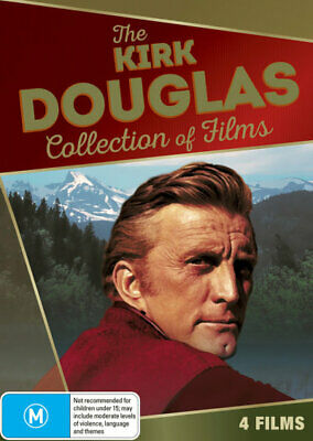 The Kirk Douglas Collection of Films (DVD 4 Films) Brand New Sealed R4