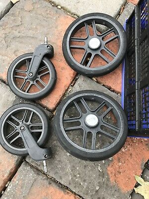Uppababy Vista 2015 Wheels (2 Front And 2 Rear Wheels) Very Good Condition003