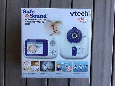 Vtech Baby Monitor BM3000- Safe & Sound Full Colour Video & Audio