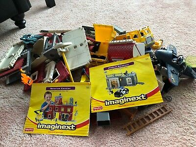 Imaginext Rescue Center & Police Station & Airplane