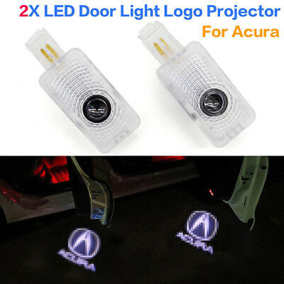 2x Replacement LED Projector Lights Door Logo Laser Fit Acura TLX RLX MDX TL ZDX