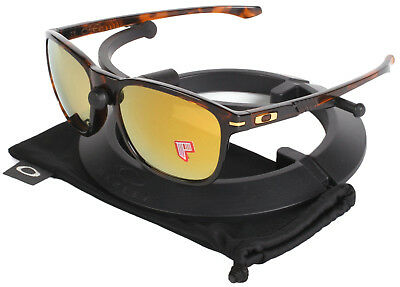 14709737fcf Oakley Tortoise Shaun White Enduro Sunglasses Polarized 24k Gold Iridium  Lenses