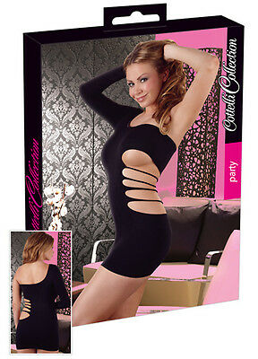 Sexy Mini Kleid Schwarz,Hot,Sexy,Abendkleid,Dancewear Gr. S/L