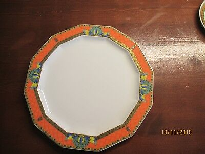1x Rosenthal Versace Le voyage de Marco polo Speiseteller -Dinnerplate