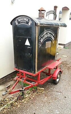 Vintage baked potato trailer project. Great business opportunity. Gas powered