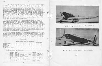 Consolidated PB-2 PB-2A P-30 1930's aircraft manual archive RARE pursuit fighter