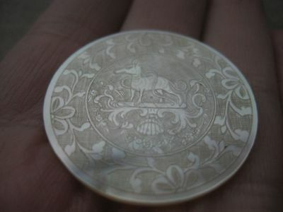 Antique Chinese Mother of Pearl Gaming Counter  292BRADDEC18