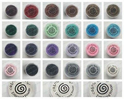 Cosmic Shimmer embossing powder 10ml - various colours !FREE P&P!