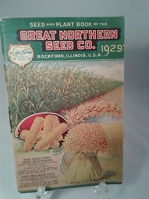 1929 Great Northern Seed Catalog