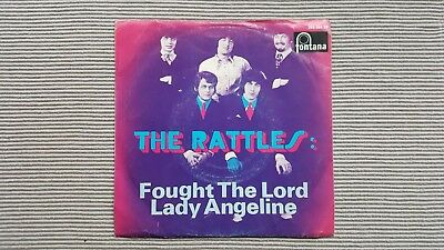 "Single 7"" Rattles Fought the Lord Top-Zustand"
