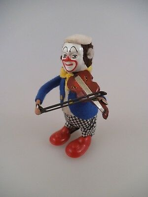 Schuco Clown mit Geige Made in Germany US Zone (2414)
