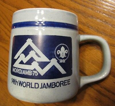 Boy Scouts 14th World Jamboree 1975 in Norway, Stein Mug