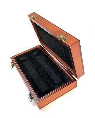Wooden Box for 2x Vintage Neumann KM56 KM254 KM74 Microphones