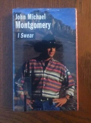 JOHN MICHAEL MONTGOMERY : I Swear Cassette Single Brand New