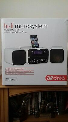Acoustic Solutions Hi Fi Micro System
